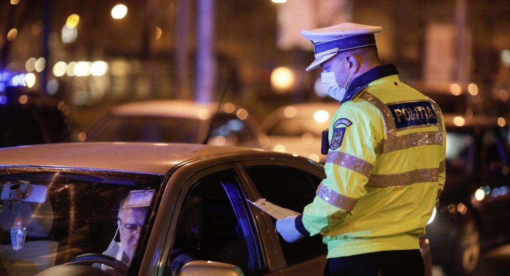 Razie a poliției în București