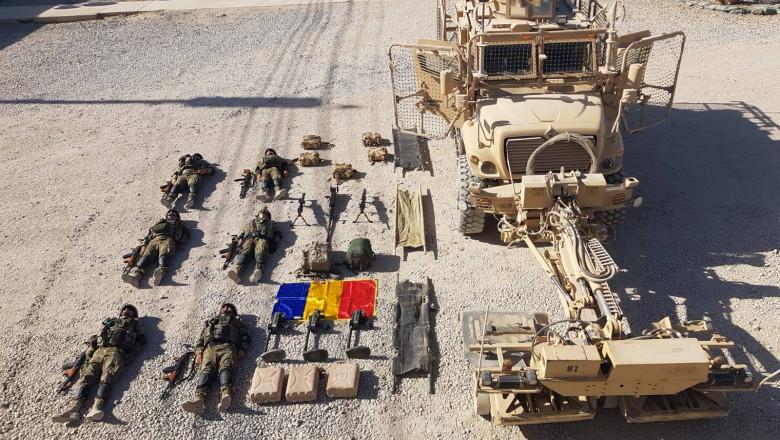 România începe să-și retragă militarii din Afganistan
