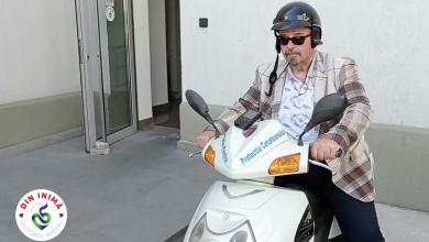 Photo of Cristian Popescu Piedone pe scuter, mai ceva ca în filmele de acțiune! Clipul cu vizita de lucru ar trebui premiat la Cannes VIDEO