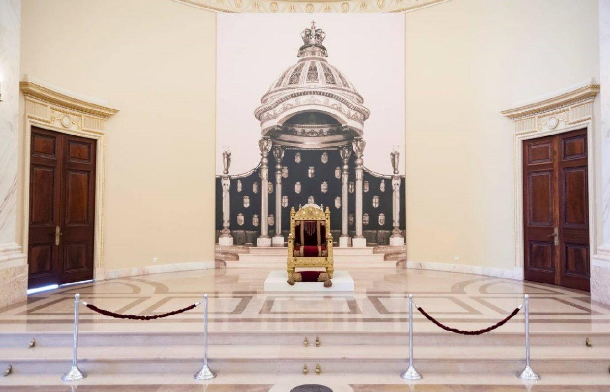 Tronul Regelui Carol I al României va fi expus în București
