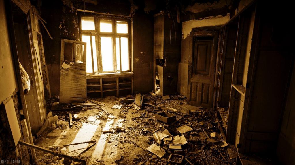 casa, miclescu, distrusa