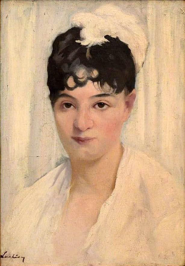 luchian, portret, mathilda