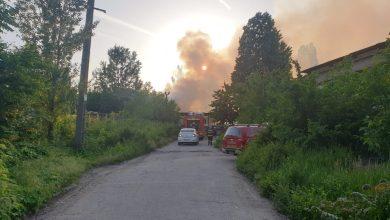 Photo of Incendiu la un depozit de paleţi de pe Şoseaua Morarilor. Arde o suprafață de 200 de metri VIDEO