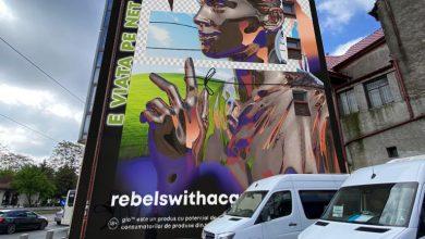 """Photo of Bucureștiul prinde culoare în cadrul campaniei """"Eco Graffiti / Rebels with a Cause"""""""