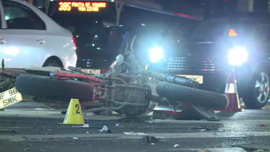 Photo of Accident în București. O şoferiţă a intrat în plin într-o motocicletă