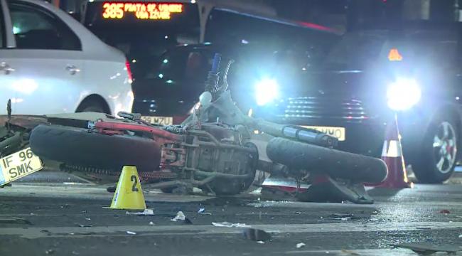O şoferiţă a intrat în plin într-o motocicletă