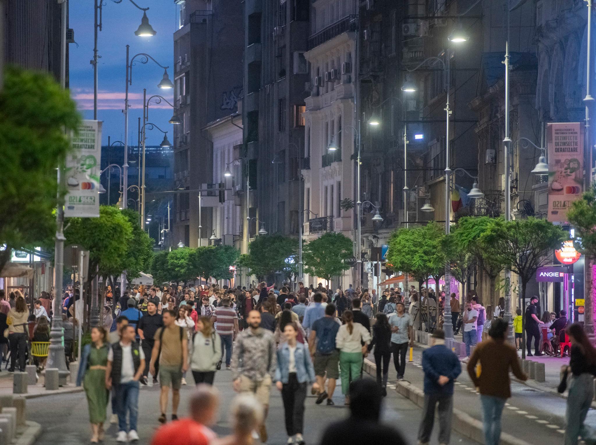 Străzi deschise București