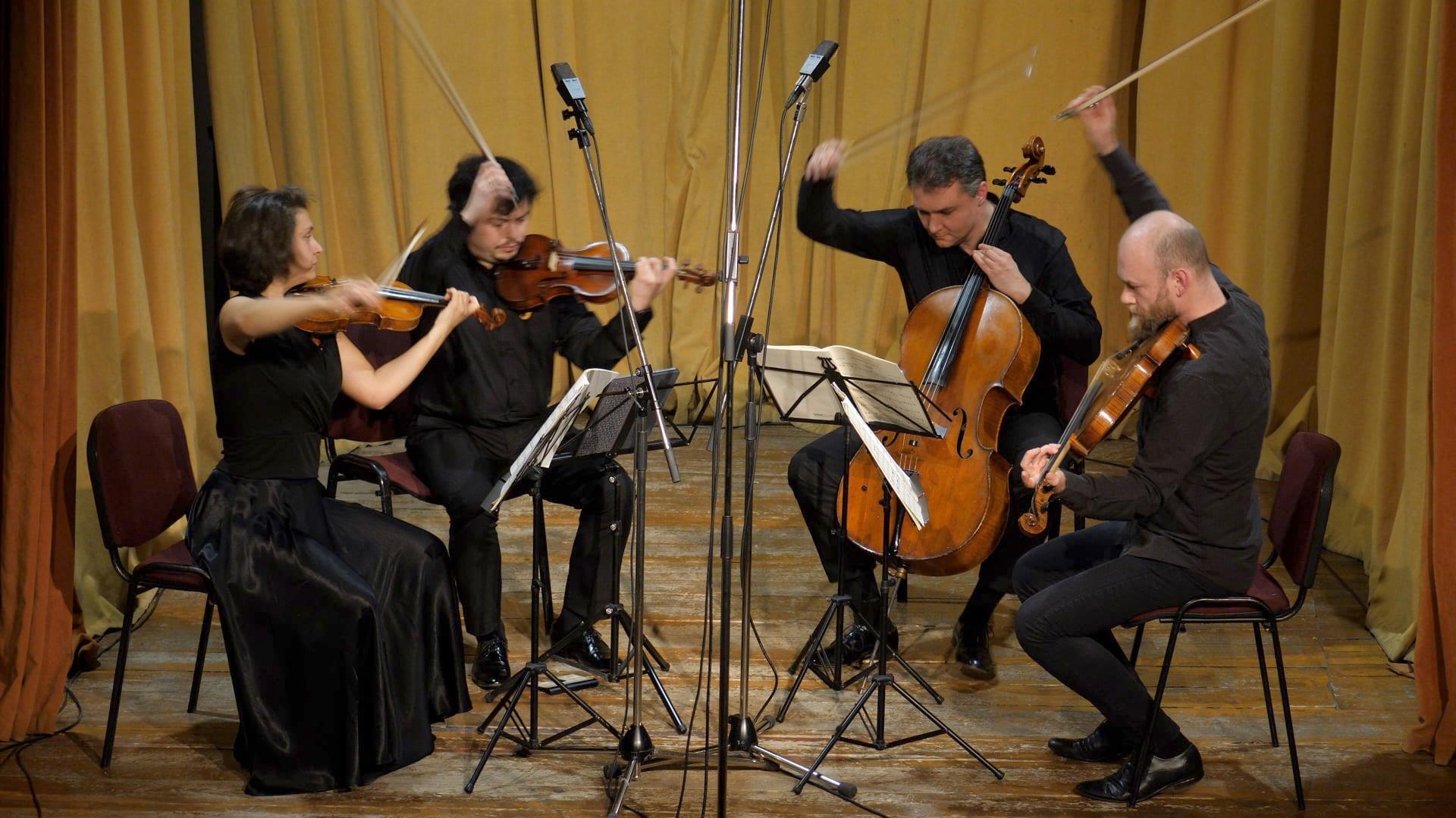 Cvartetul Arcadia, recital la Palatul Tinerimea Română pe 25 mai