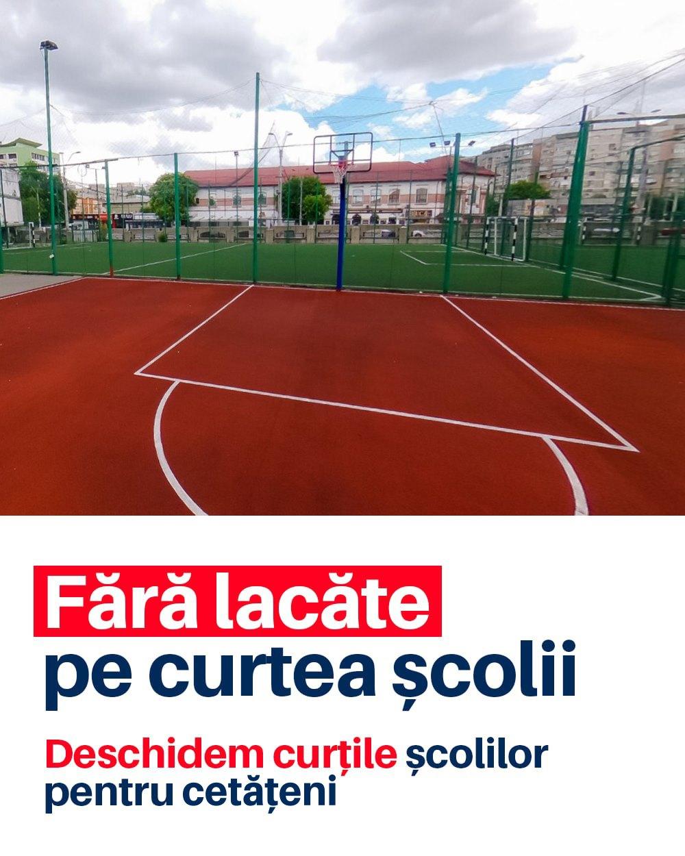 Deschiderea curților școlilor pentru comunitatea din Sectorul 4 al Capitalei. Proiectul trebuie pus în dezbatere publică