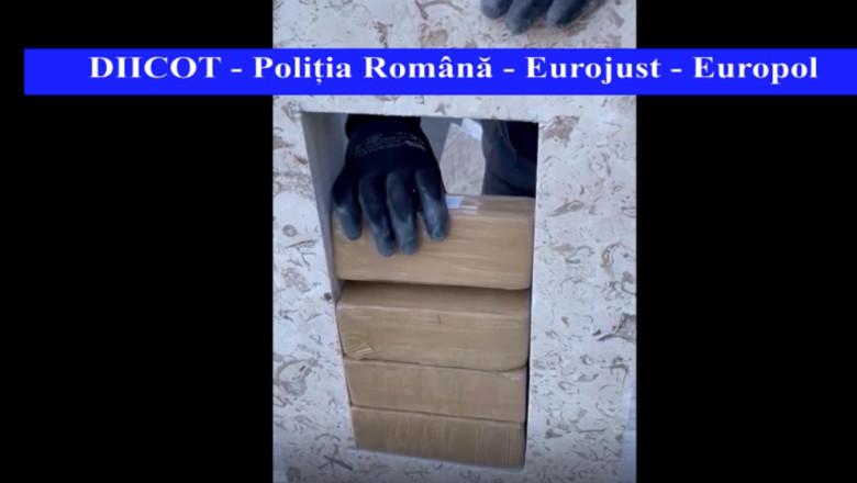 Cea mai mare captură de heroină din România
