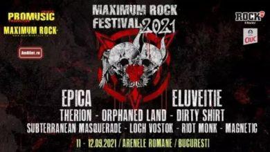 Photo of Maximum Rock Festival 2021 va fi organizat la Arenele Romane din București