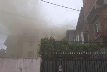 Photo of Incendiu în Popești-Leordeni. Arde acoperișul unui bloc