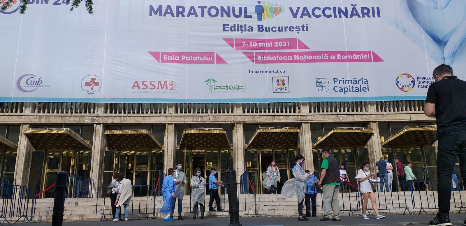 9 persoane vaccinate pe minut la maratonul vaccinării din București