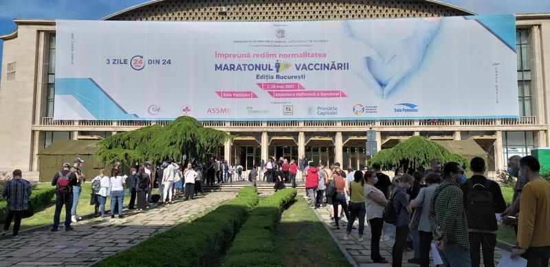 Unde pot face rapelul cei care se vaccinează la maratonul de la București
