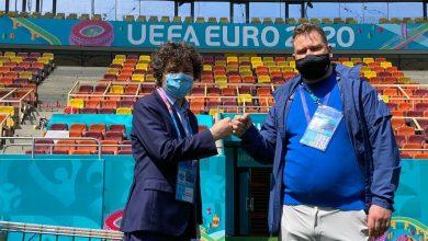 Photo of Campionatul European bate la ușă. Nicușor Dan a făcut turul Arenei Naționale împreună cu managerul de stadion din partea UEFA