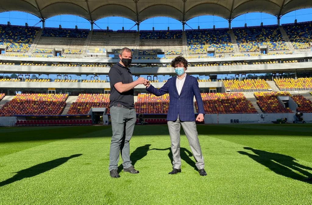 """Nicușor Dan: Avem """"verde"""" de la UEFA pentru gazonul de pe Arena Națională"""