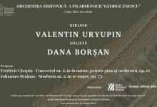 """Photo of Pianista Dana Borșan readuce muzica lui Chopin în stagiunea online a Filarmonicii """"George Enescu"""""""