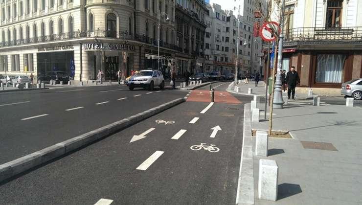 Pistele pentru bicicletă din București