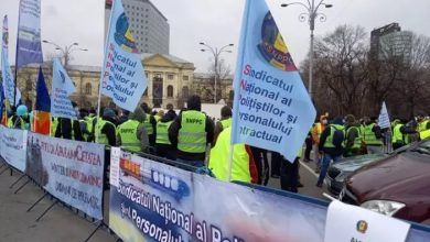 Photo of Protest la Ministerul de Interne. Polițiștii au ieșit în stradă