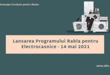 Photo of Etape Program Rabla pentru Electrocasnice. Înscrierile încep azi