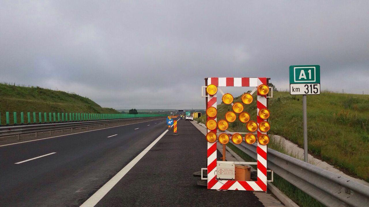 restricții de circulație pe autostrăzile A1 și A2