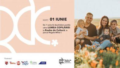 Photo of Roaba de Cultură deschide porțile către Lumea Copilăriei, de 1 iunie, în Parcul Regele Mihai I