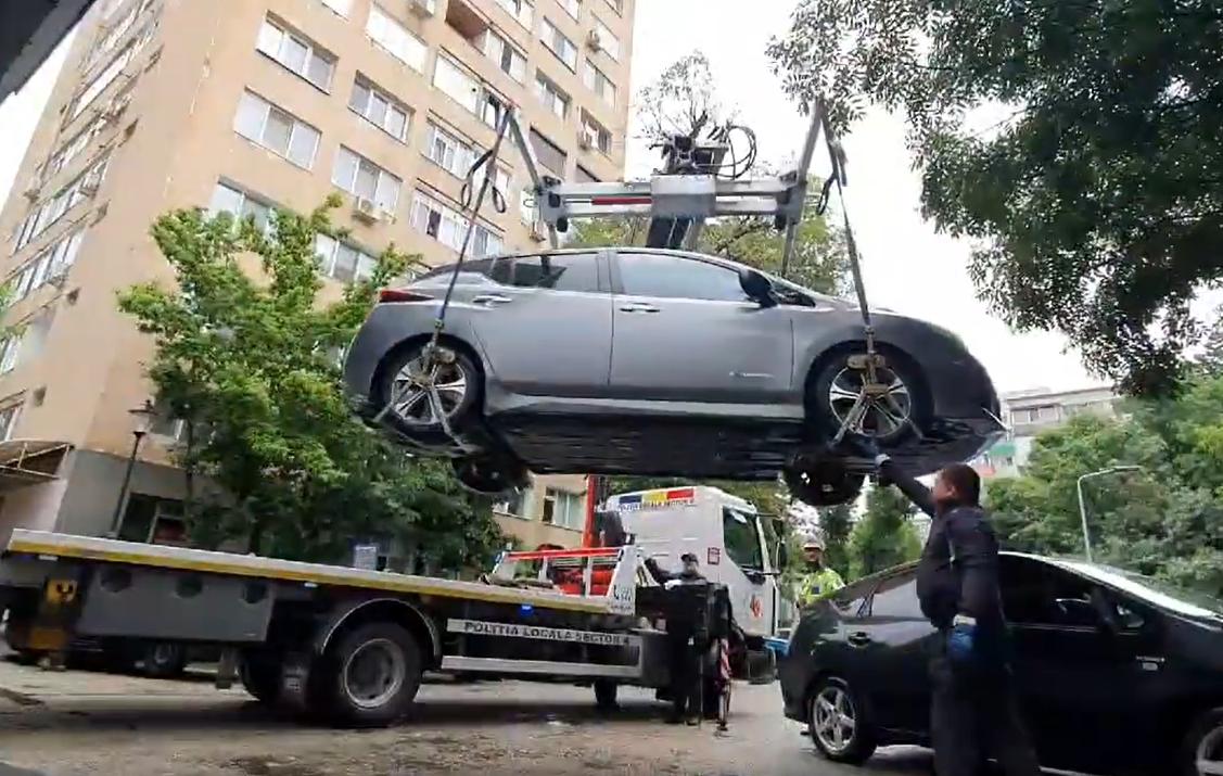 Se ridică mașinile din Sectorul 4 al Capitalei. În ce parcări vor fi relocate autoturismele