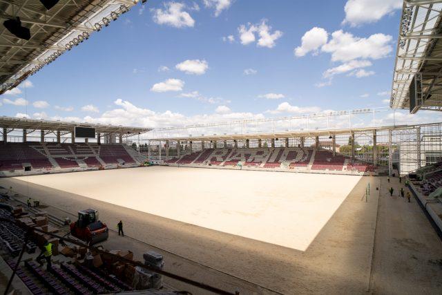 Stadionul Giuleşti este finalizat în proporţie de 90%