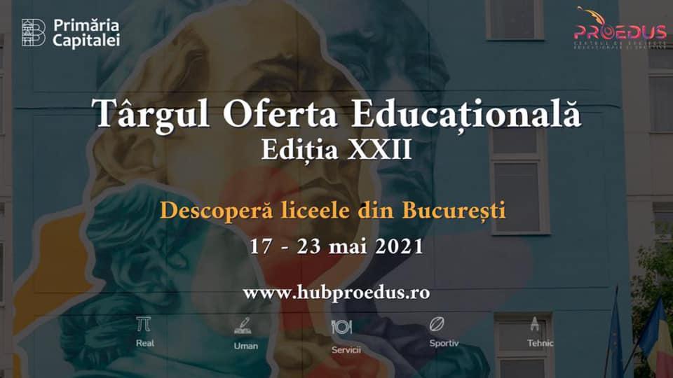 Cel mai mare târg de oferte educaționale din București își deschide porțile