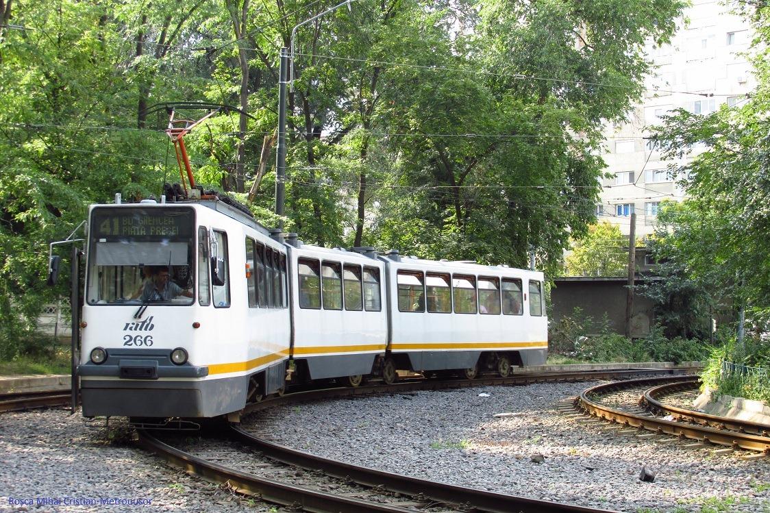 Tramvaiul modern din București