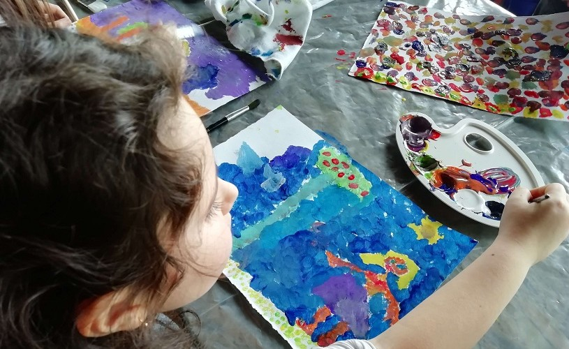 Ateliere pentru copii la Muzeul Naţional de Artă Contemporană