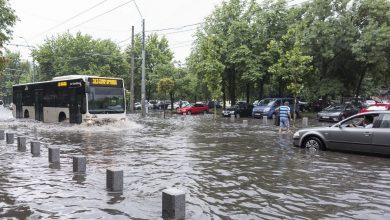 Photo of Bucureștiul a fost sub ape din cauza ploilor   FOTO&VIDEO