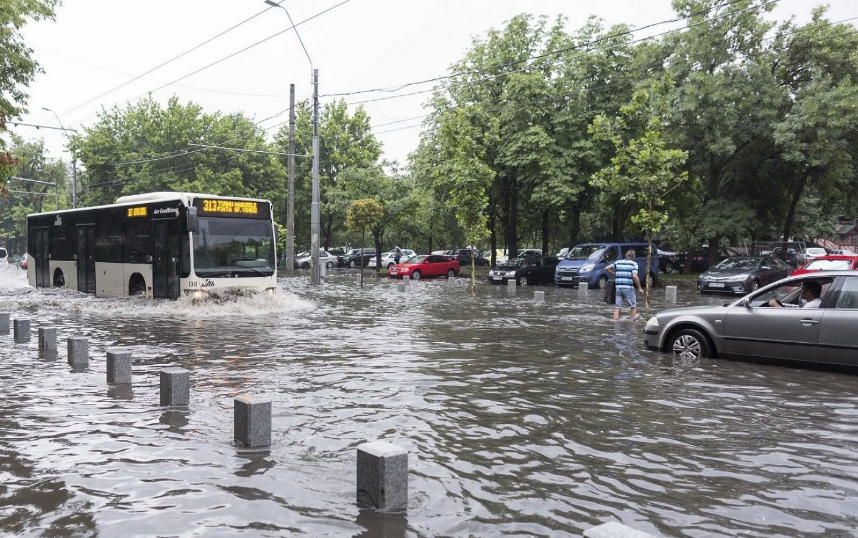 Bucureștiul a fost sub ape
