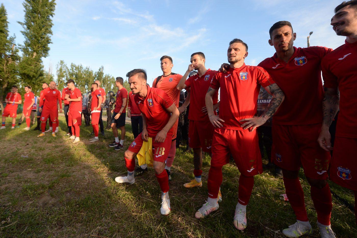 Steaua nu poate promova în Liga I