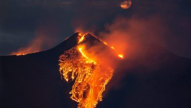 Photo of Vulcanul Etna a erupt din nou. Imagini senzaționale | VIDEO