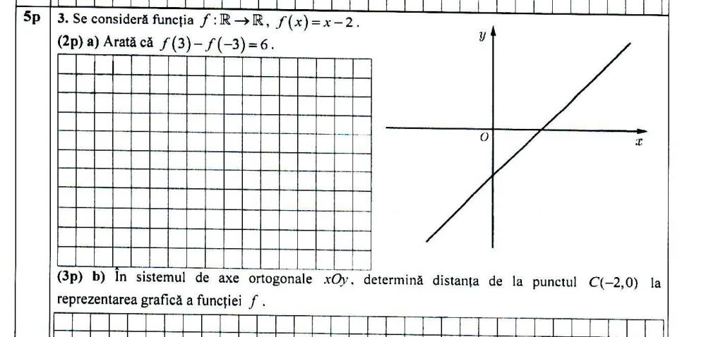Subiecte Matematică Evaluarea Națională 2021