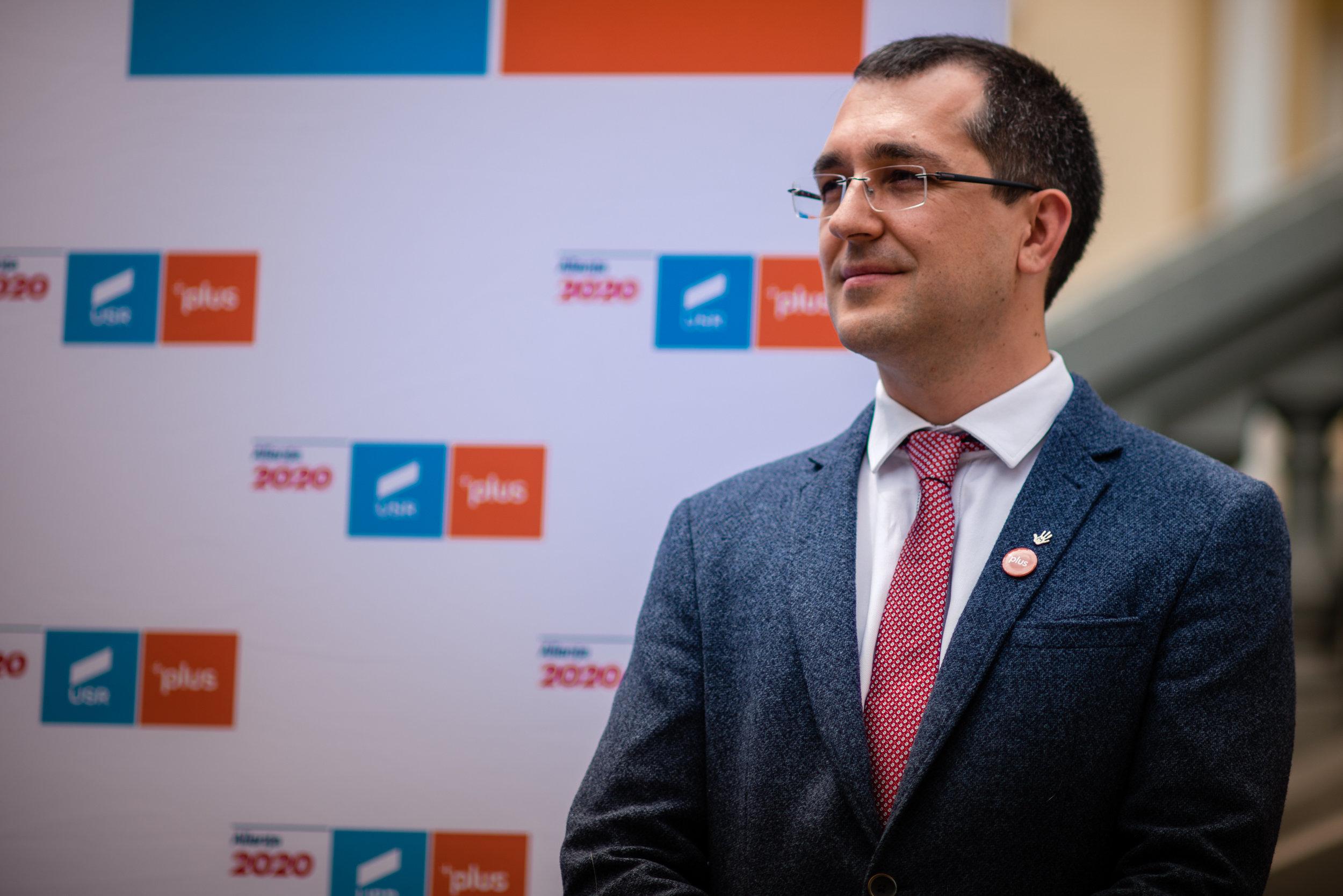 Vlad Voiculescu este noul președinte al USR PLUS Bucureşti