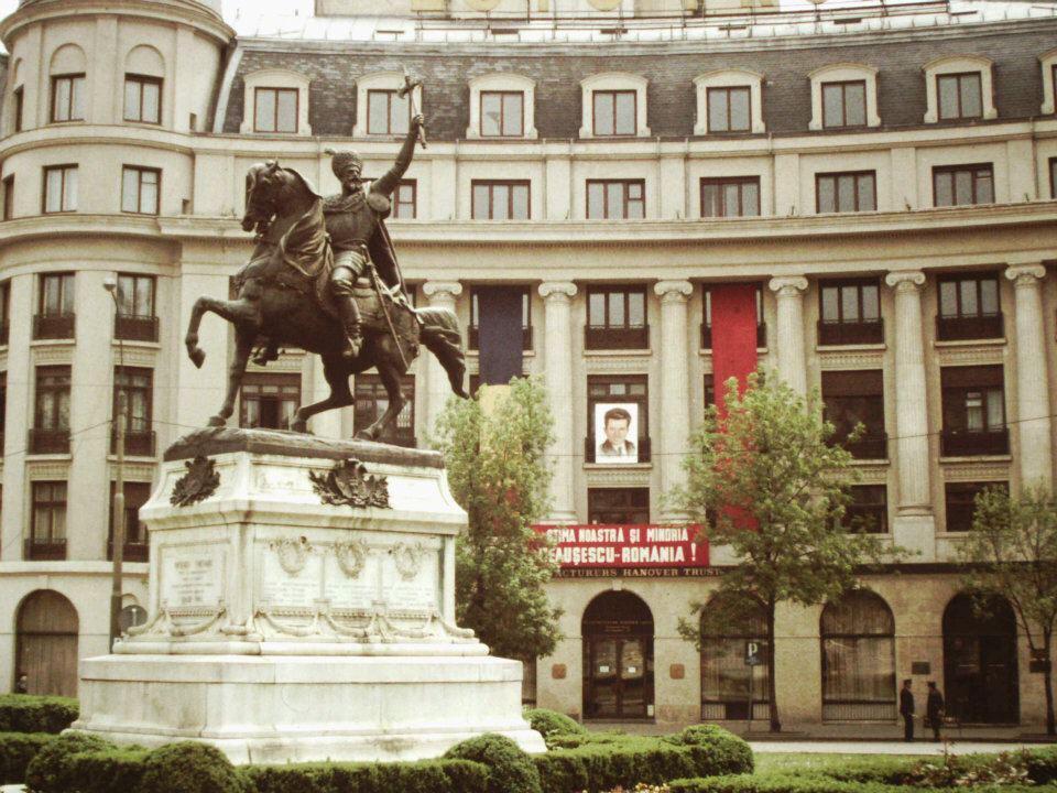 Piata, universitatii, foto, comunism