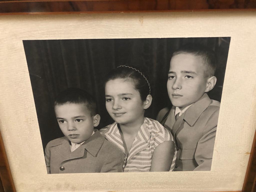 portret, copiii, sotilor, Ceausescu