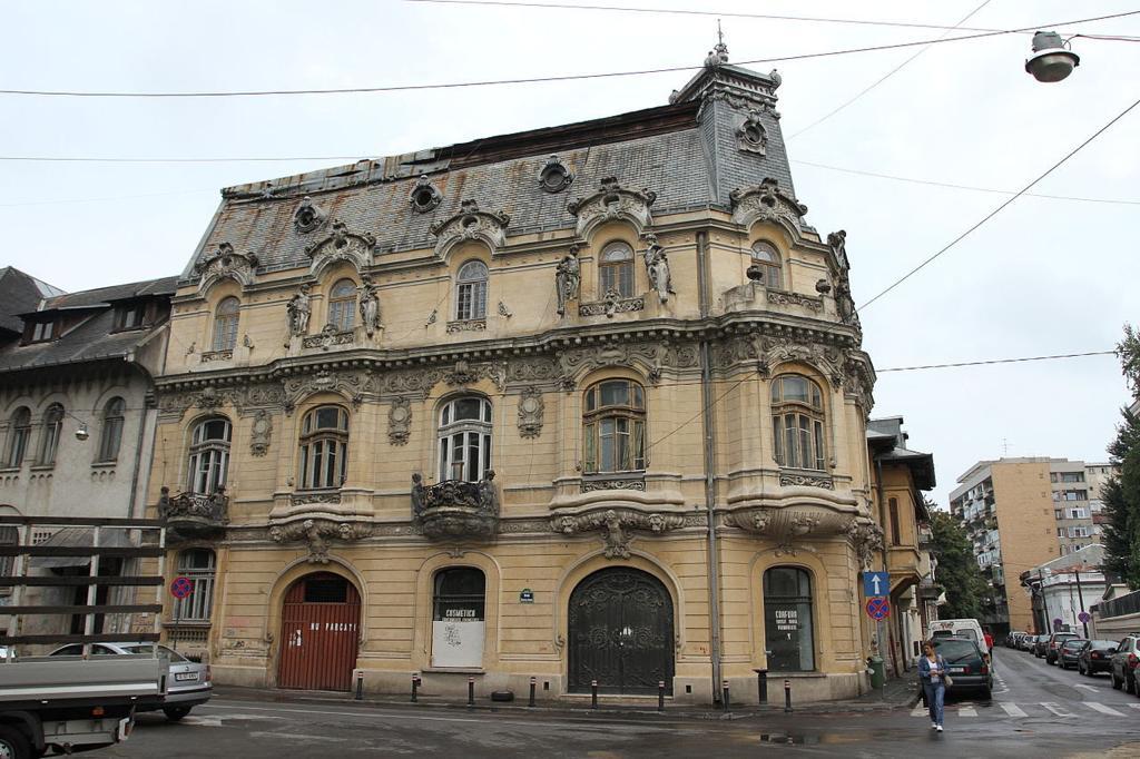 Palatul, Mita, Biciclista, din, Bucuresti inainte de, restaurare