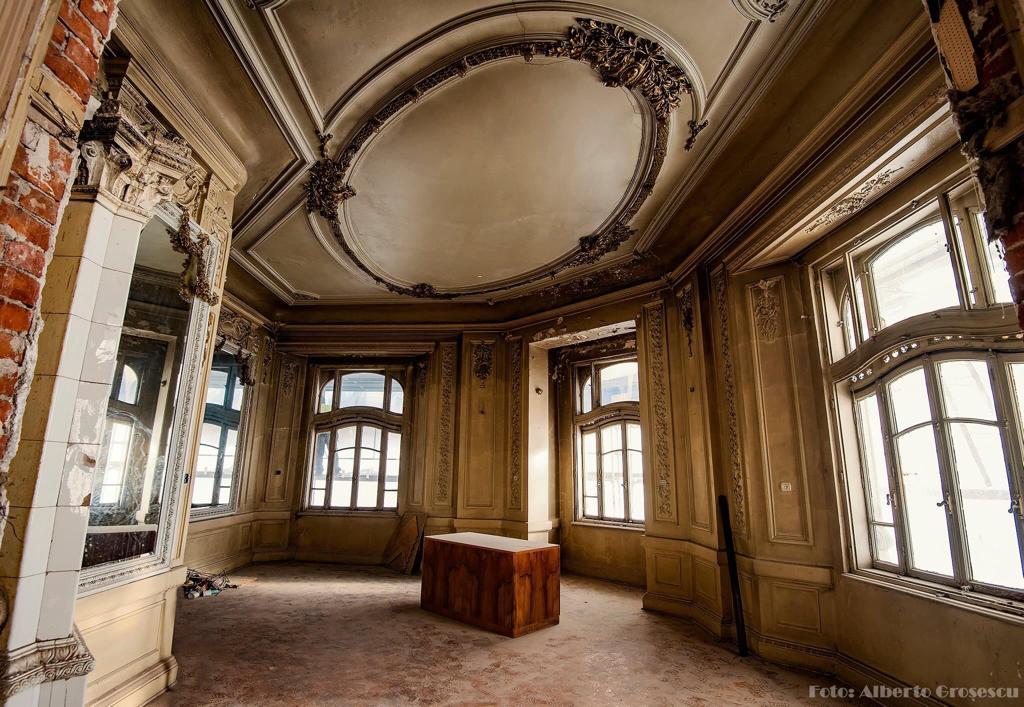interior, palatul, mița biciclista, inainte, de restaurare