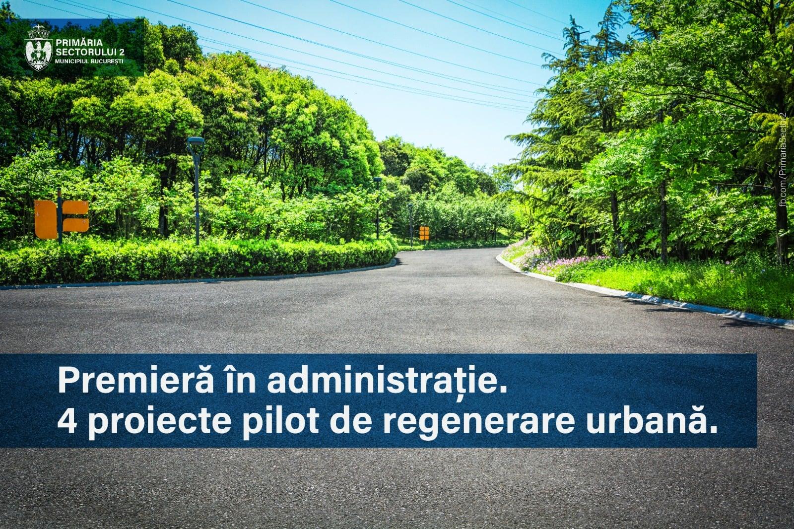 Amenajarea și regenerarea spațiului urban din Sectorul 2. Radu Mihaiu îi invită pe cetățeni la dialog