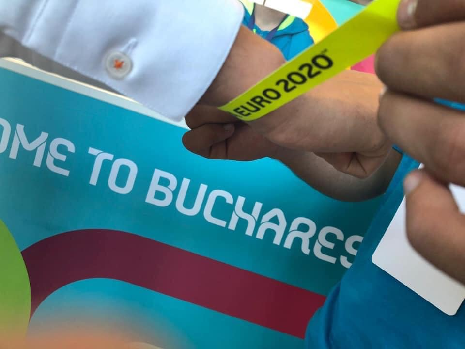 UEFA Euro 2020. Brățările pentru meciul Ucraina - Macedonia de Nord se pot ridica de miercuri