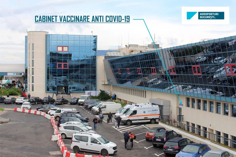 S-a deschis un cabinet de vaccinare în aeroportul Otopeni. Ce ser este folosit pentru imunizare