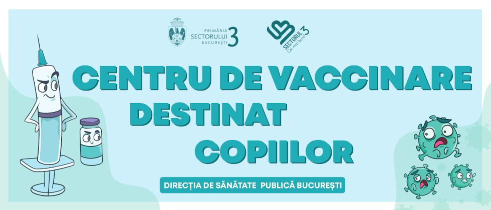 """Un nou centru de vaccinare pentru copii în parcul """"Alexandru Ioan Cuza"""" din Sectorul 3"""