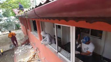 Photo of Construcţie ilegală demolată în Sectorul 4. Un balcon avea curte, gard şi beci   VIDEO
