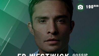 Photo of Ed Westwick vine la București. Vedeta din Gossip Girl va participa la East European Comic Con de la Bucureşti