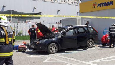 Photo of O mașină a sărit în aer în București. Tânărul resuscitat la fața locului a decedat UPDATE