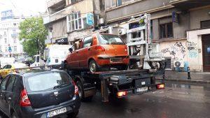 mașini abandonate din Sectorul 1 au fost ridicate