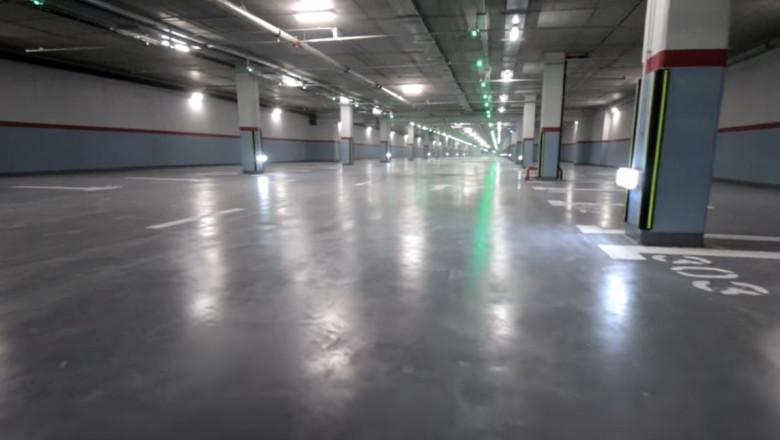 parcarea subterană de 750 de locuri din Sectorul 3